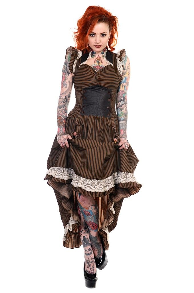 Banned // Banned Steampunk Victoriana Dress