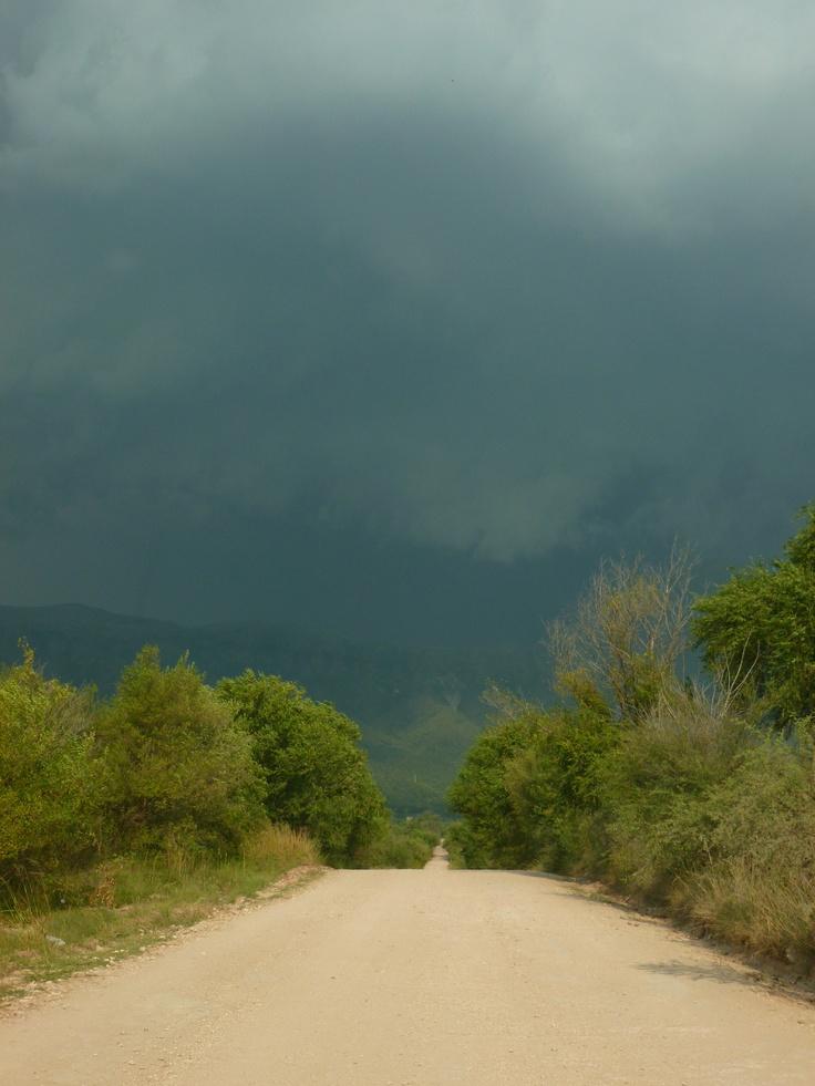 Camino a Santa María.
