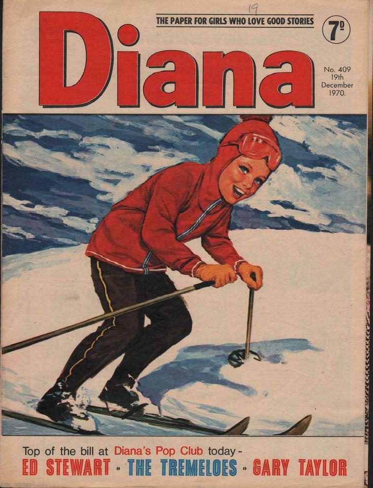 Diana Magazine No. 409 19 December 1970  Gary Taylor  Ed Stewart Adrienne Posta