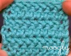 Learn how to make the Herringbone Half Double Crochet Stich with this quick Video Tutorial! #crochet