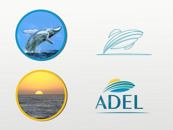 Abstracción y construcción de logotipo