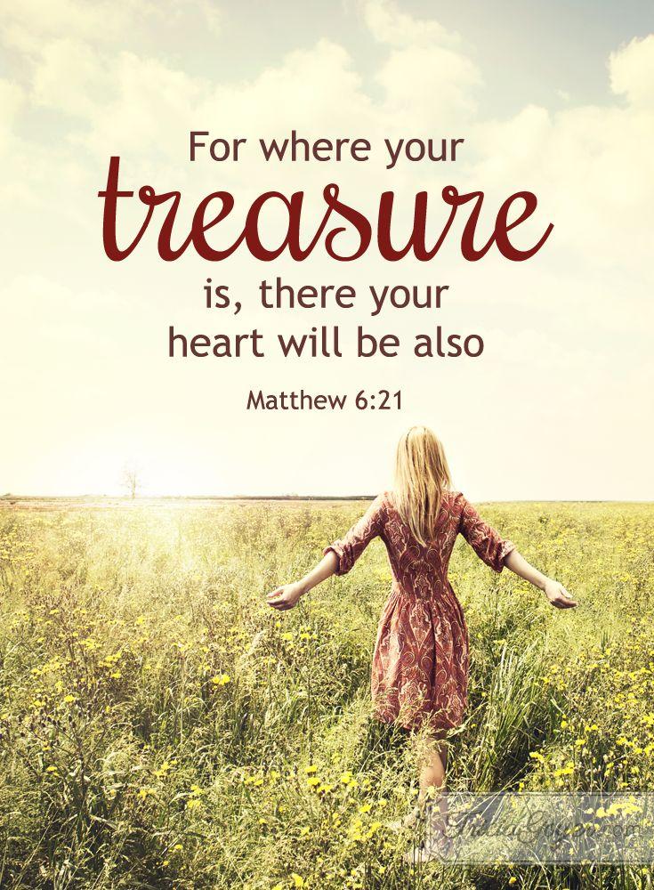 Treasure | Matthew 6:19-21