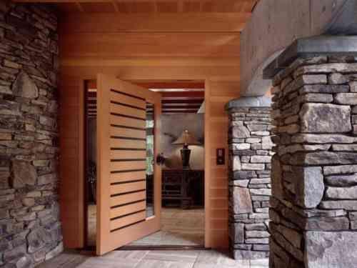 Porte pivotante design moderne
