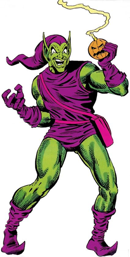 Green Goblin - Norman Osborn - Marvel Comics - Spider-Man enemy