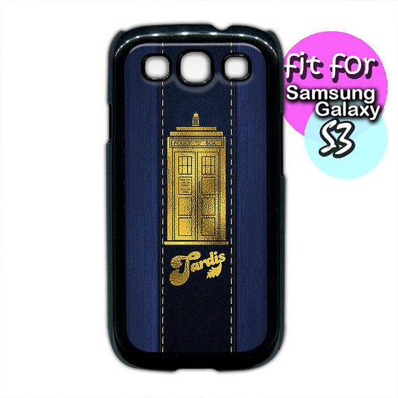 dr. who tardis leather wood pattern case print for by etbay, $12.99