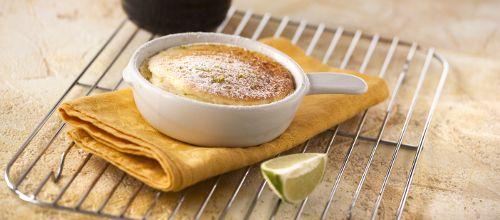 Receita de Soufflé de lima. Descubra como cozinhar Soufflé de lima de maneira prática e deliciosa com a Teleculinaria!