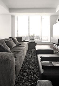 One Harbour Green, Vancouver - modern - living room - vancouver - Gaile Guevara