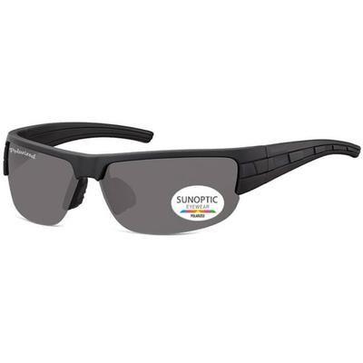 Γυαλιά Ηλίου Biker Sunoptic Polarized SP306-BLACK-e-chap
