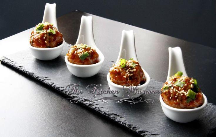 Hoisin Asian Meatballs