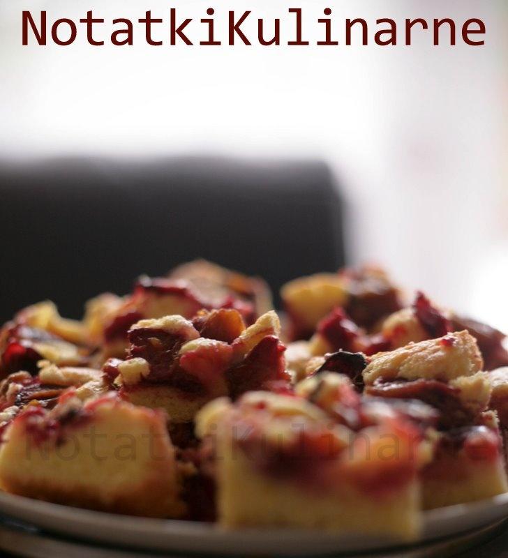 notatki kulinarne: Placek świętego Bernarda