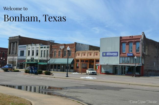 A quick trip just northeast of Dallas will bring you to a town full of history. Take a peek at Bonham, Texas. #BonhamTx #TexasTowns #TexasDayTrip #HistoricalTown #TexasHistory
