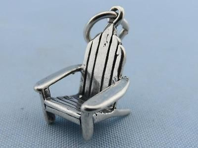 Vintage Chair Sterling Silver Charm
