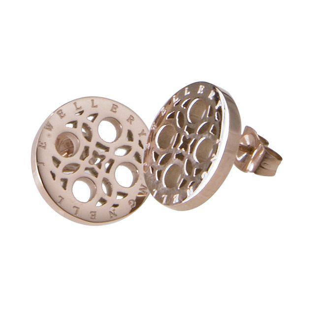 Ingnell Jewellery - Marika stud rose. Stainless steel. www.ingnelljewellery.com