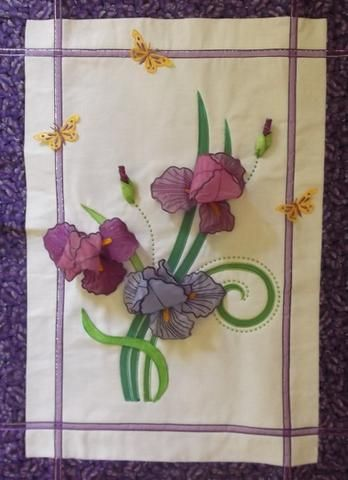 Iris Wall Hanging