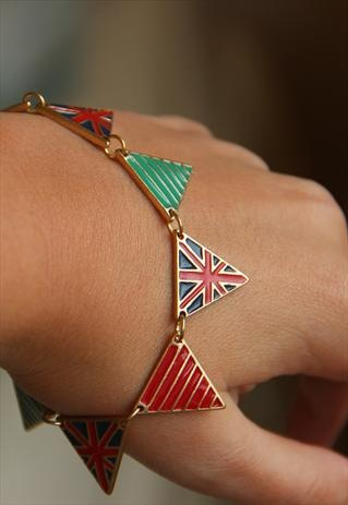 Support GB in the Olympics with a bunting bracelet