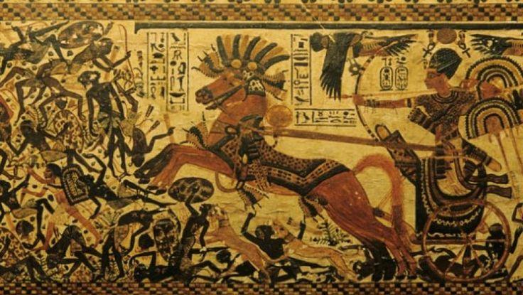 Carul de luptă, tancul din Egiptul Antic | Historia