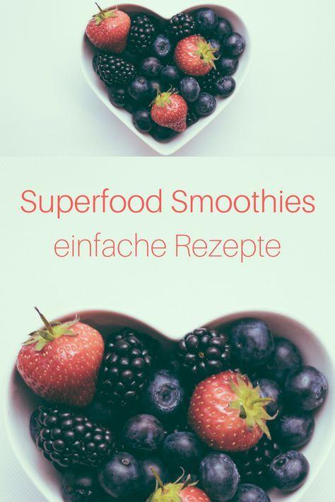 Rezept für Superfood Smoothies. Wer Superfood wie Himbeeren, Erdbeeren, Blaubeeren, Chiasamen, Weizengraspulver, Ingwer, Kurkuma in seine tägliche Ernährung integriert, tut seinem Körper viel gut. Besonders einfach ist die Aufnahme des Superfoods im Smoothie. Klicke hier http://entsafter-kaufen.info/superfood-smoothie-rezepte/ für leckere und einfache Superfood Smoothie Rezepte