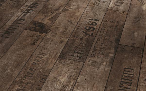 wine crate laminate flooring!