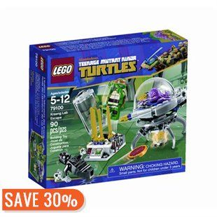LEGO Teenage Mutant Ninja Turtles Kraang Lab Escape by LEGO® | Toys | chapters.indigo.ca 20% de rabais (12,56$ au lieu de 17,95$)