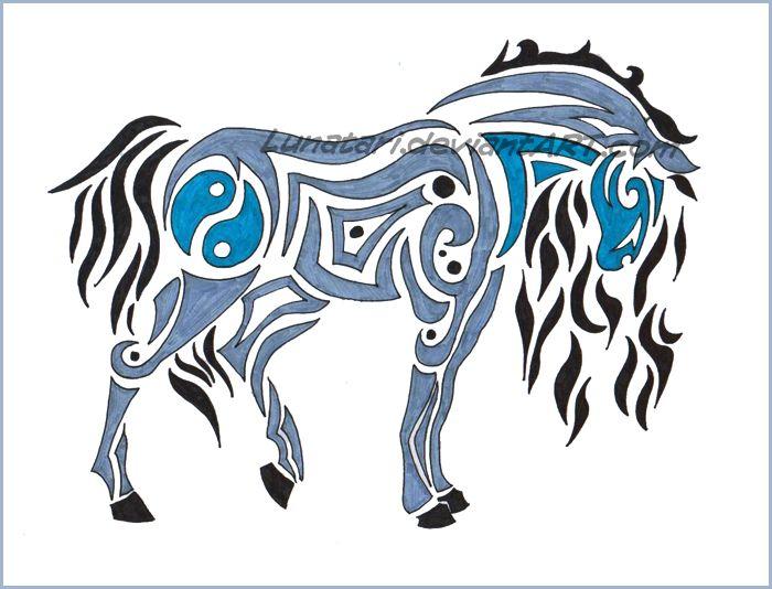 37 best tribal horse tattoo images on pinterest horse tattoos tribal horse tattoo and tatoos. Black Bedroom Furniture Sets. Home Design Ideas