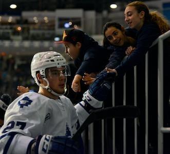 The Toronto Maple Leafs have recalled Jesse Blacker - 3/25/13
