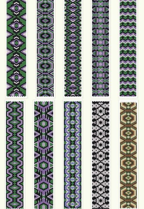 Free peyote patterns http://anabel-beadpatterns.blogspot.com.es/