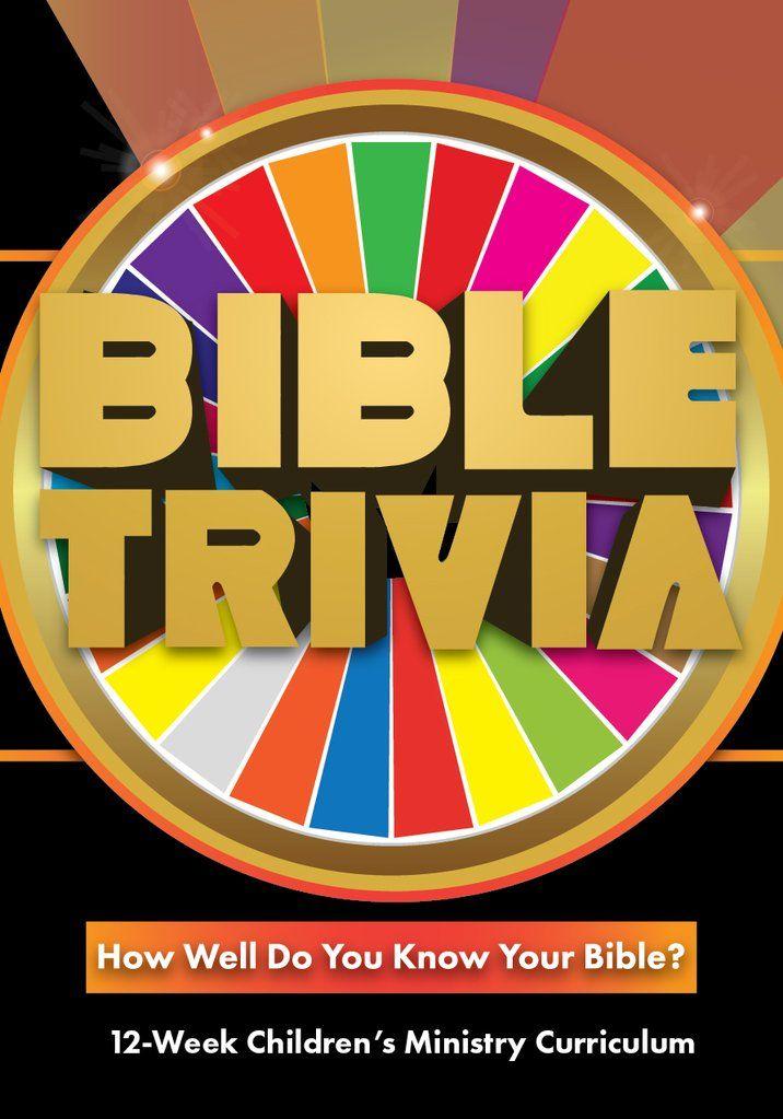 Bible Trivia 12-Week Children's Ministry Curriculum