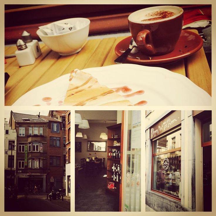 Pepper Mint Tea Room fijne, kleine, gezellige parel verstopt in het drukke Brussel...