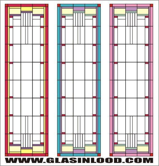 glas in lood ontwerpen voor deuren en ramen