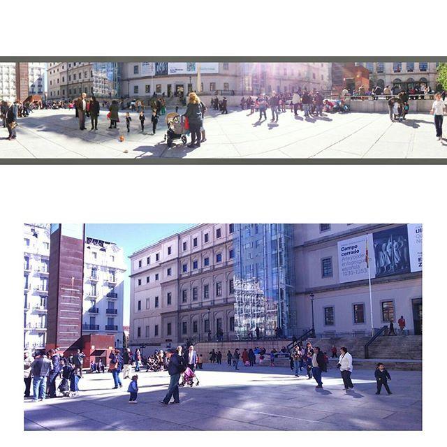Tarde increíble de sol disfrutando las calles de Madrid y recargando pilas, la ciudad bulle llena de energía por todos los sitios.  javieryeva.com  #madrid #reinasofia #madridmemola #tiempo #demadridalcielo #relax #energia #sol #solecito #felizviernes #reinasofiamuseum #porfinviernes