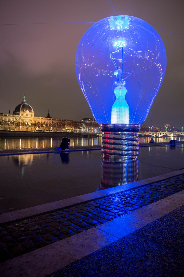 Fête des Lumières de Lyon. Photo credit: Bruno Martinier - Incandescence at Lyon Light Festival 1 - philips.to/1AamSgk #fetedeslumieres