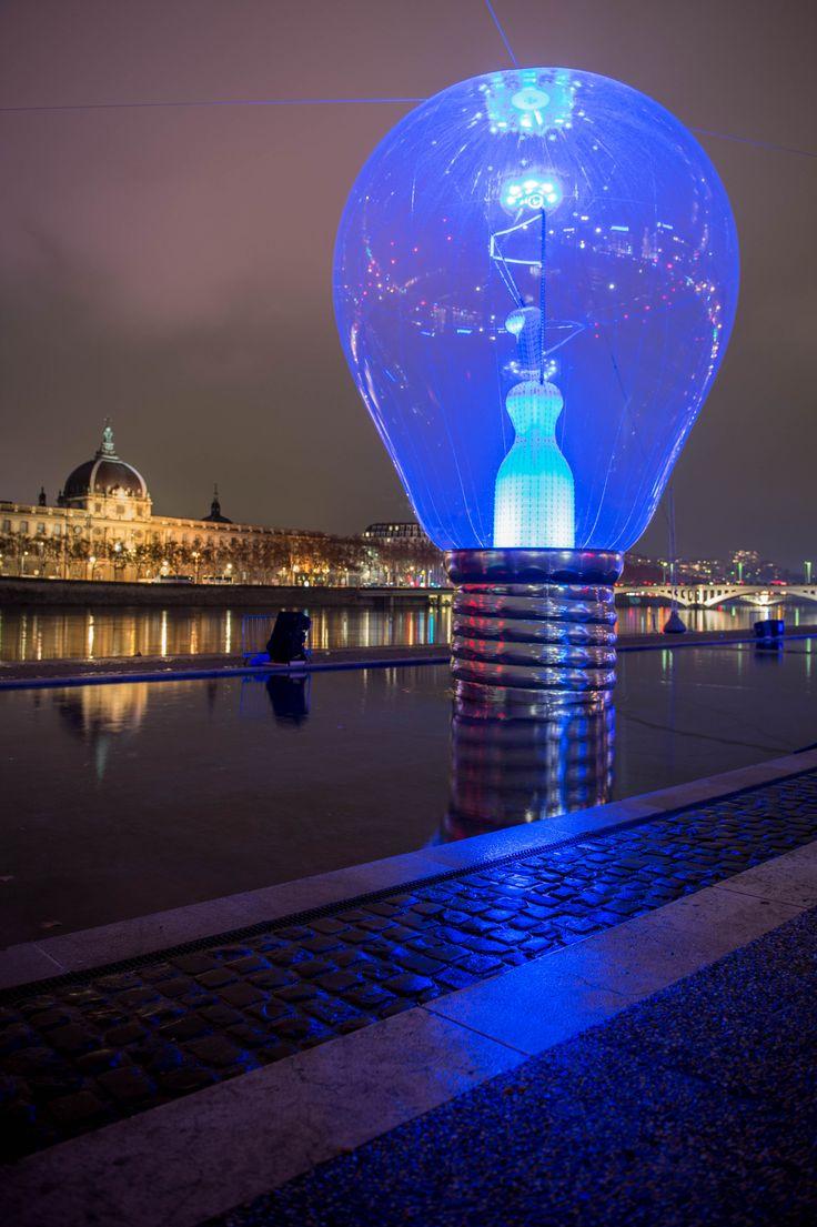 Fête des Lumières de Lyon. Photo credit: Bruno Martinier - Incandescence at Lyon Light Festival 1 - philips.to/1AamSgk #fetedeslumieres