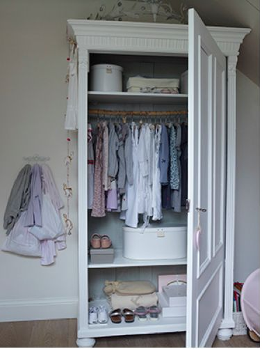 wardrobe: Girl Closet, Kids Wardrobe, Idea, Cabinets, Daughters, Kids Decor, Kids Rooms