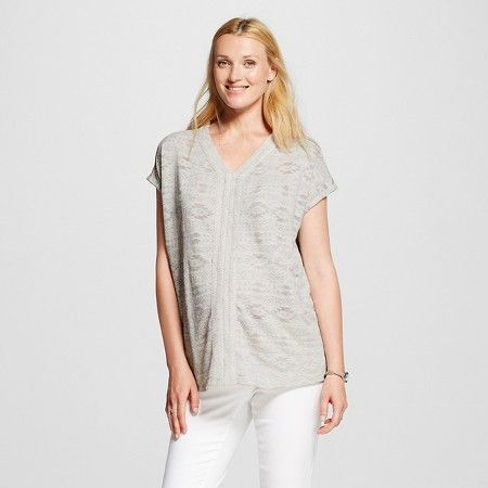 Maternity Short Sleeve Top - Liz Lange® for Target : Target