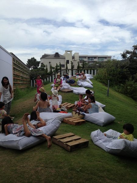 beach party for Tomorrowland in their beach house in Hayama August 2013