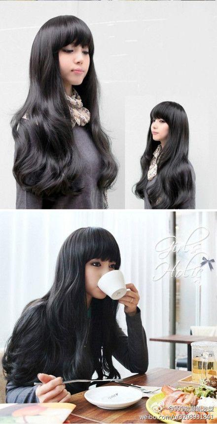 Long hair & Bangs