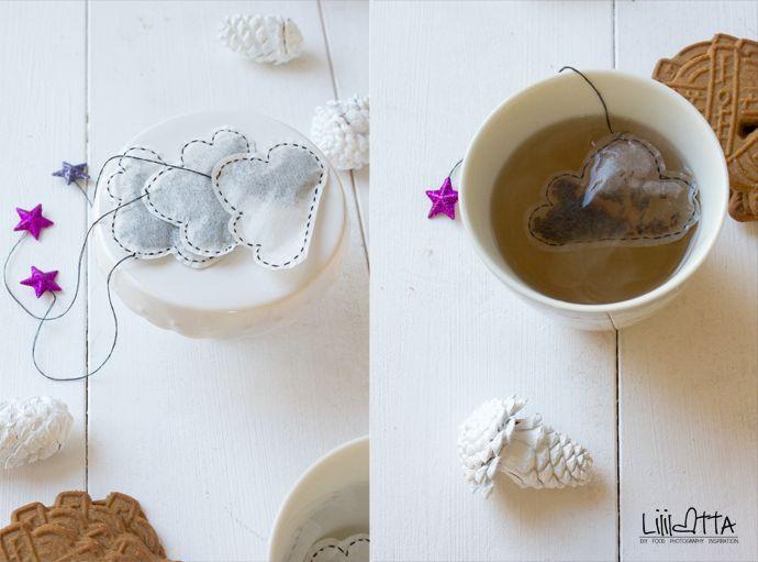 Lililotta The Blog: Türchen 9/Wolken-Teebeutel (DIY)