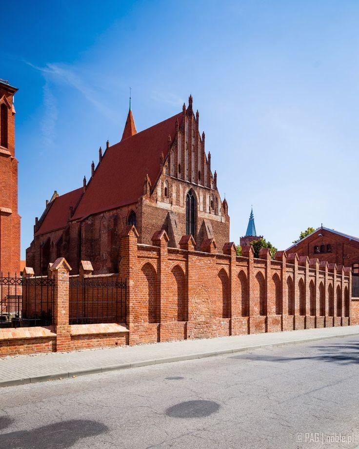 XIII/XIV century St. James & St. Nicholas gothic post-Franciscan church in Chelmno (Culm or Kulm an der Weichsel), Poland