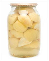 Яблоки, консервированные с сахаром
