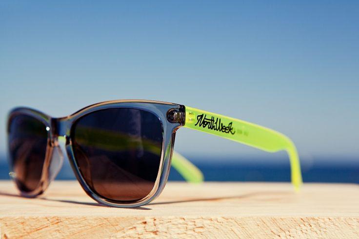 Somky Yellow arms, bright Grey front, Black lenses #Northweek #Sunglasses #Barcelona http://www.northweek.com/creative