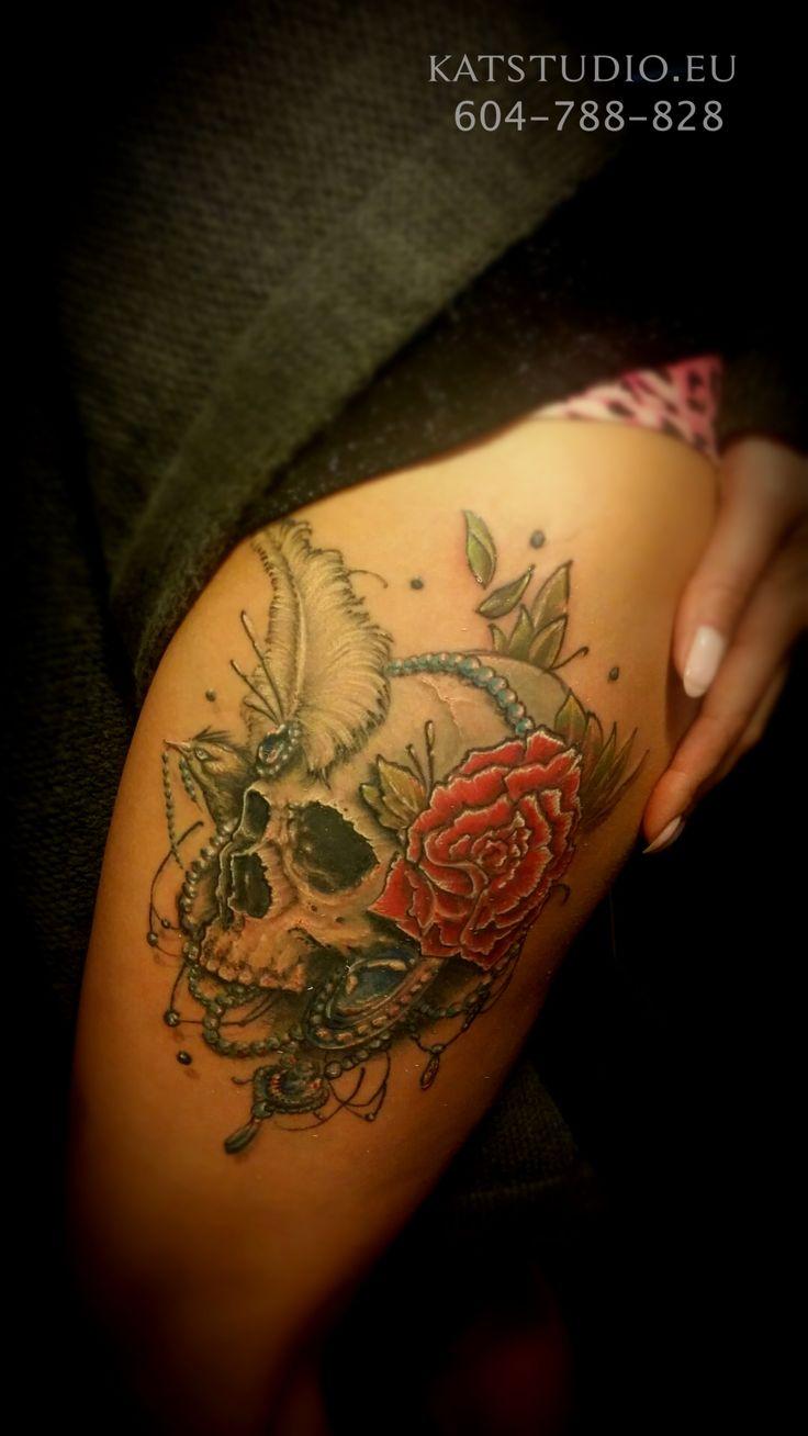 3d tattoos that will boggle your mind bizarbin - Skull Tattoo