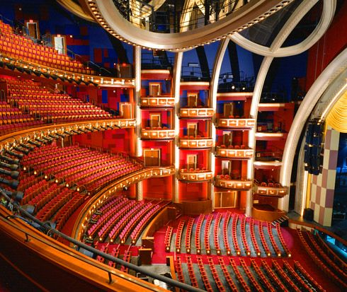 Dolby Theater (Formerly Kodak Theater) at the Hollywood & Highland Center in Los Angeles, CA
