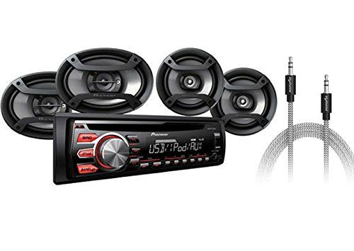 Pioneer Car Stereo Audio Combo Pack 4 Speakers + AUX Cable AM FM CD MP3 PLAYER INPUT 200 WATTS DXT-X2769UI00 TRUCK SUV BUS  http://www.productsforautomotive.com/pioneer-car-stereo-audio-combo-pack-4-speakers-aux-cable-am-fm-cd-mp3-player-input-200-watts-dxt-x2769ui00-truck-suv-bus-2/
