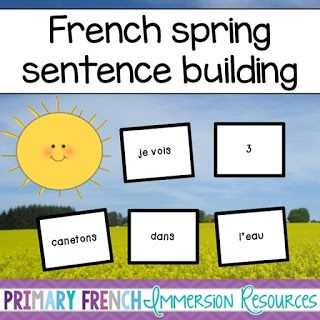 Spring file updates! - Primary French Immersion Resources