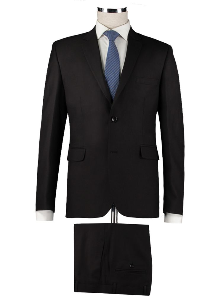 Silvio Bossy Lacivert Renk Slim Fİt Takım Elbise ::