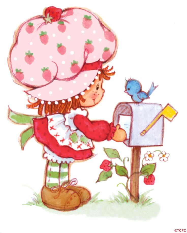 Strawberry Shortcake Mails a Letter