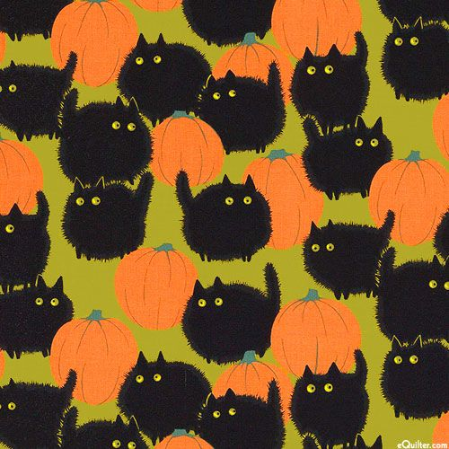 Haunted House - Belinda's Big Kitty - Poison Green