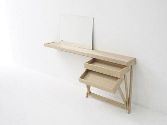 contemporary desk and drawer innovative design