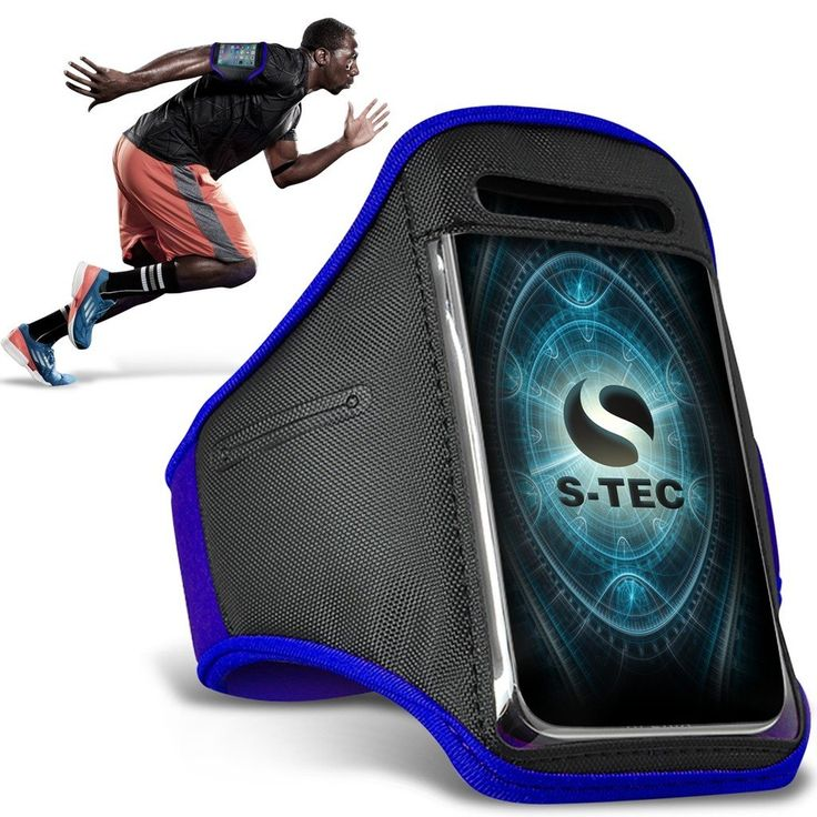 SONY XPERIA J Armbands - ( Blue ) Universal Sports Running Action Mobile Phone Armband Holder. Ideal for most sporting activities such as, jogging, cycling, gym workout, Zumba, spinning classes, hiking. The case is made of strong but soft mesh material that is completely washable. The armband is water resistant and protects your device from bumps scrapes and wear with its neo soft material, the phones screen is also protected by a screen protector shield. Protects your phone from being...