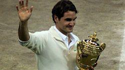 Роджер Федерер семикратный чемпион Уимблдона.